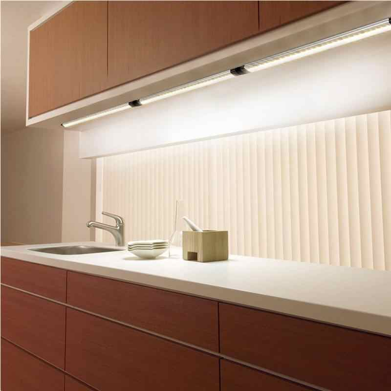Under Cabinet Led Lighting Kit Light Strips For Kitchen Counter Closet And Shelf With Us