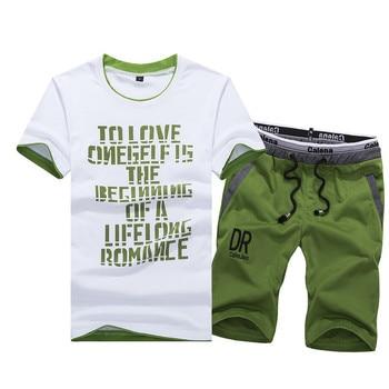 2019 Summer Mens Shorts Casual Suits Sportswear Clothing Sets Short Pants Male sweatshirt Fashion 4XL