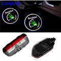 Car LED Door Courtesy Laser Projector Logo Light For SKODA Superb 2009-2014