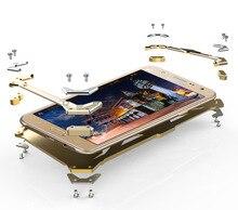 Для Samsung J5 2016 zimon Алюминий металлический чехол для Samsung Galaxy J7 2016 защиты смартфона