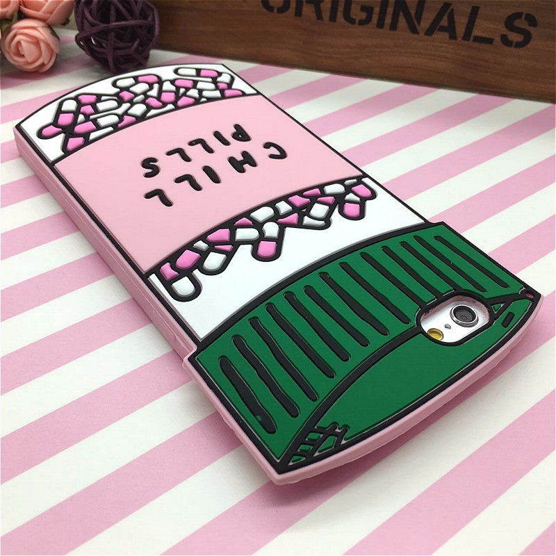 HTB1AMZDNFXXXXc2XFXXq6xXFXXX8 - Fashion 3D Sweet Love Polion Chill Pills Rubber Soft Cute Back Cover for Apple iPhone 6 6s 4.7'' Funny Silicone Phone Case Shell PTC 232