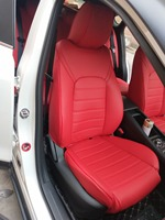 Пользовательские из натуральной воловьей кожи чехлы для автомобильных сидений для Авто Suzuki Grand Vitara Jimny Kizashi чехлы автомобильные аксессуары
