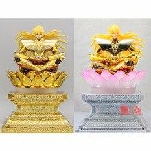 Lc modelo ex ouro ou luz lotus plataforma para bandai virgo shaka