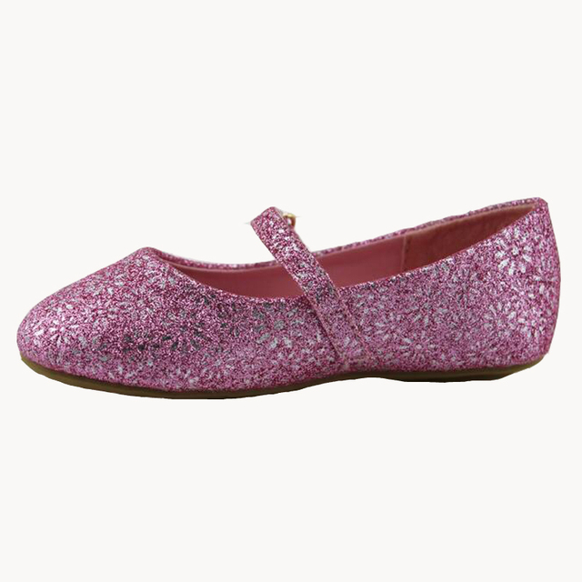 Toddler girl flats little girl ballet flats shoes Glitter Mary Janes little  baby flats shoes girl school shoes