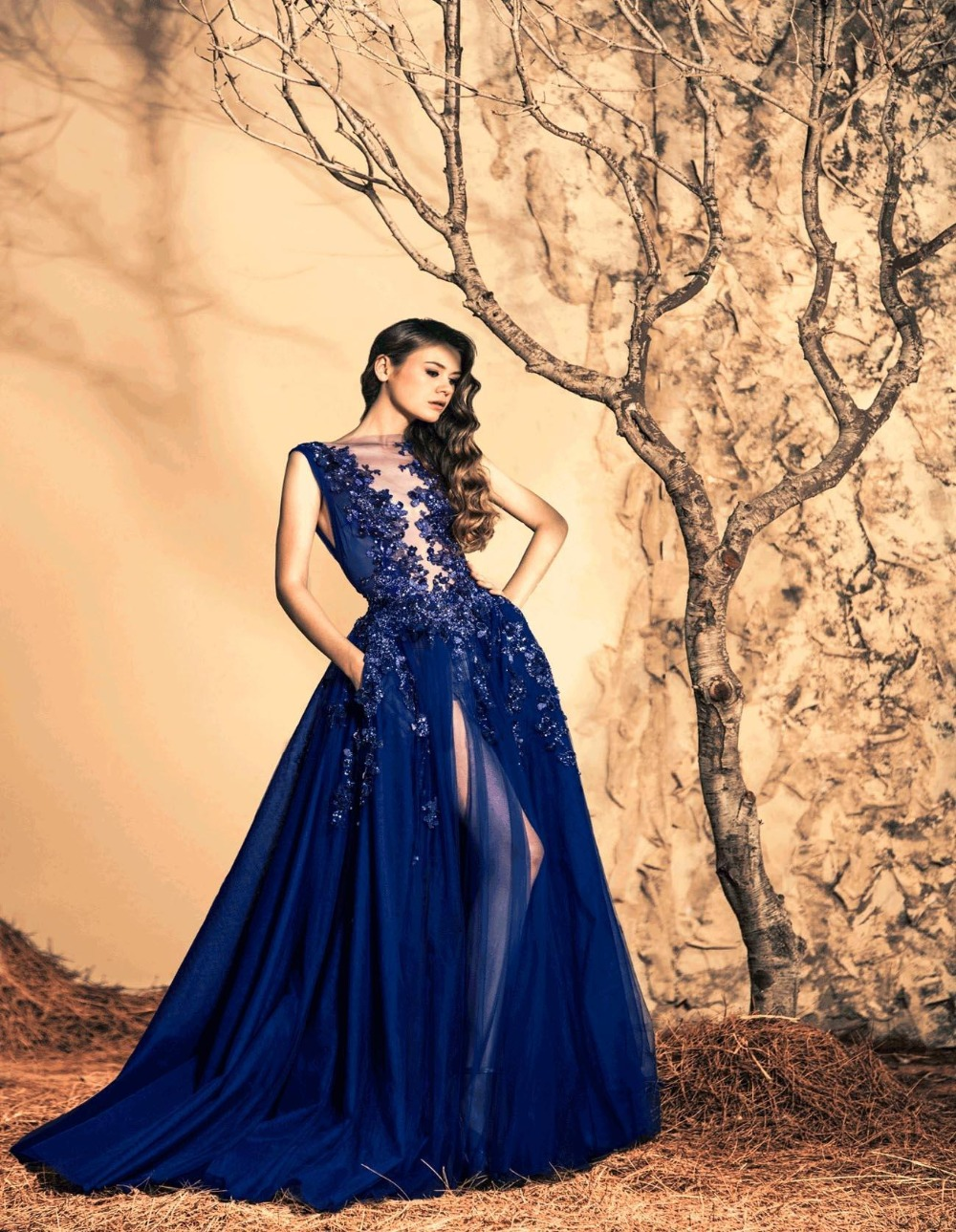 Just b prom dresses royal blue