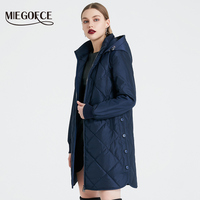 2019 MIEGOFCE Spring Autumn Women s Jacket Simple Quilted Women s Coat  Fashion Windproof Warm Parka New Design 0fa25b2c4c1e