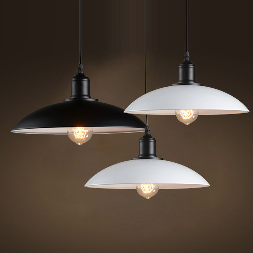 American Country Aluminum Balcony Pendant Light White/Black Painting Dining room Bedroom Contracted Denmark Pendant Lamp bamboo bedroom pendant lights balcony