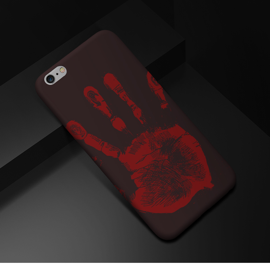 FLOVEME Thermal Discoloration Protective Phone Case For iPhone 7 7 Plus Ultra Thin Soft Silicone Back Cover For iPhone 6 6S Plus (12)