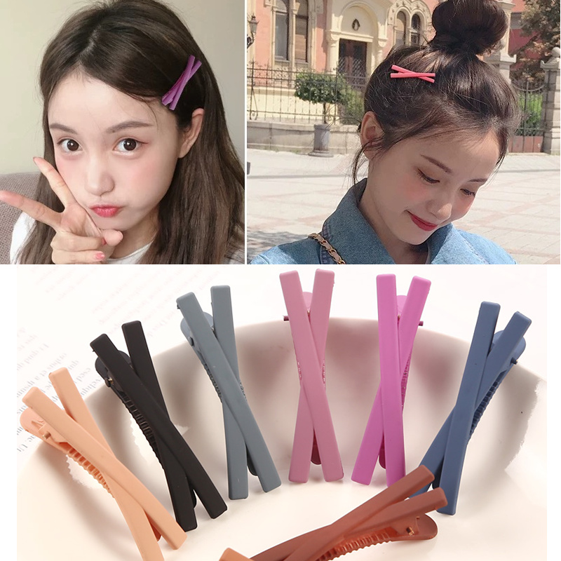 2019 5pcs/lot Bowknot Hairpins Hair Barrettes Children Hair Accessories For Women Cute Girls   Headwear   Bow modeling Hair Clips