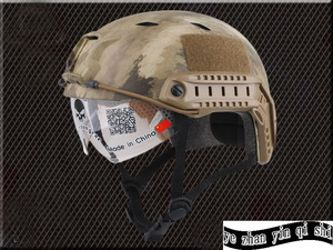 Image 3 - Emerson FAST Helmet With Protective Goggle BJ Type Helmet Military Airsoft Helmet tactical Army Helmet    free shipping