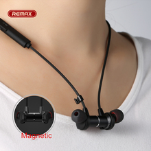 Cheapest remax S7 Bluetooth 4.1 sport Magnetic Adsorption Metal hifi earphone for iphone 5s 6 7 plus Earbuds Mobile phone headset