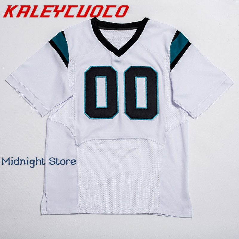 98a8fe5f0 Custom Made Men Women Youth High Quality Stitched Logos Name Number Football  Jerseys Big Tall Size Color Black Blue White-in America Football Jerseys  from ...