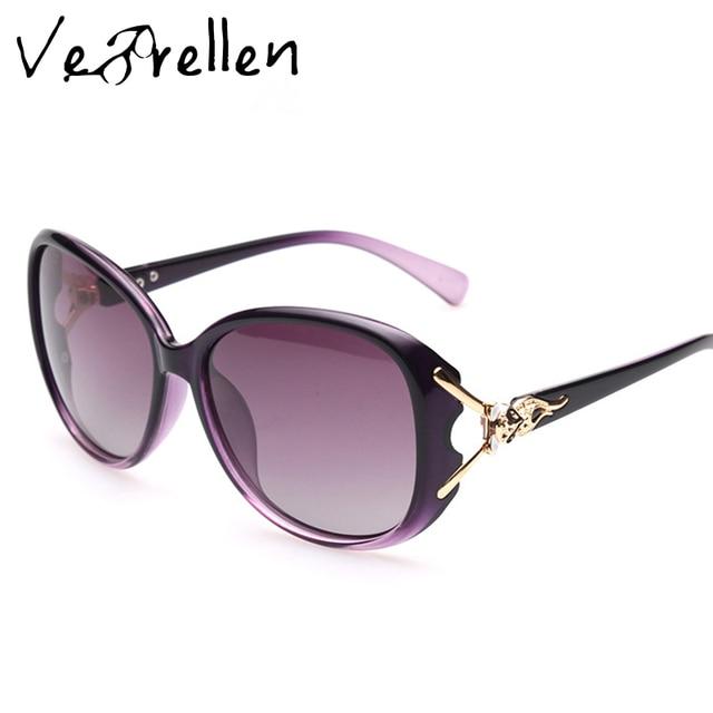 e769d6a2e40dc5 Vebrellen vintage lunettes de soleil femmes verres polarisés lunettes de  soleil pour femmes marque designer rétro