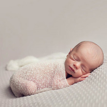 Newborn Photography Props Infant Costume Outfit Cotton Soft Photo Wrap Matching Baby Photo Props fotografia