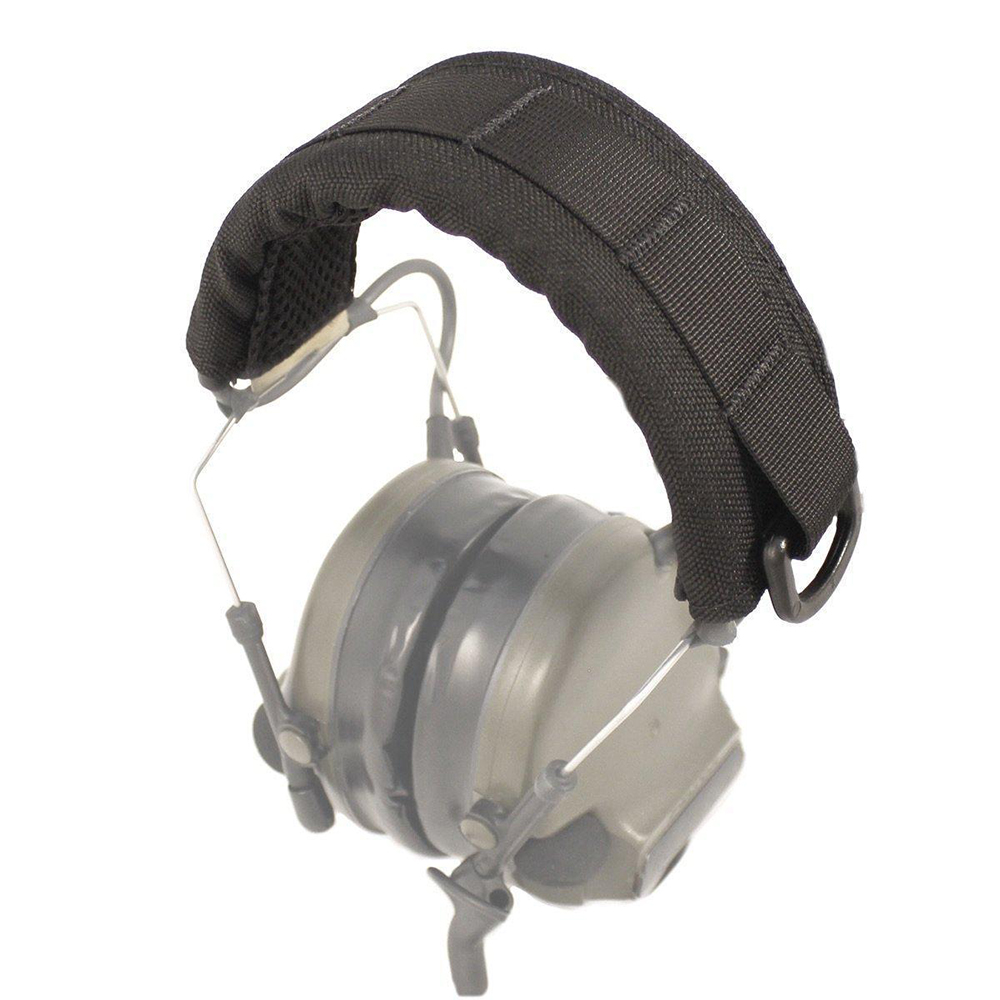 Tactical Advanced Modular Headset Cover Molle Headband For General Tactical Earmuffs Hunting Accessories