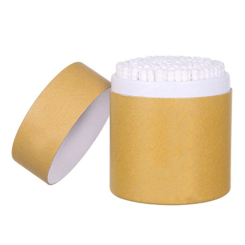 Werkzeuge & Zubehör Ordentlich 200 Stücke Bambus Baumwolle Tupfer Holz Sticks Weiche Baumwolle Knospen Reinigung Von Ohren Tamponsmakeup Werkzeuge Gesundheit Schönheit üBerlegene Leistung