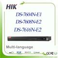 6mp hikvision nvr 4ch 8ch 16ch full hd ds-7604n-e1 ds-7608n-e2 ds-7616n-e2 substituir ds-7604ni-e1 ds-7608ni-e2 ds-7616ni-e2