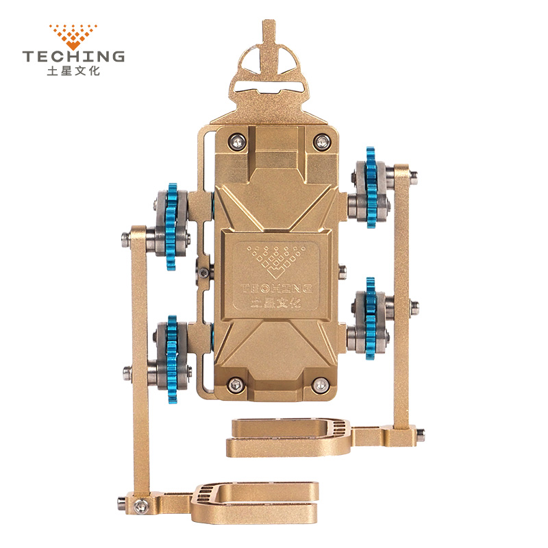 Frank Teching All-metal Assembly Robot Walker Mobile Phone App Remote Control Diy Rc Building Model Kits For Collection Gift Toy Warm And Windproof Toys & Hobbies Model Accessories