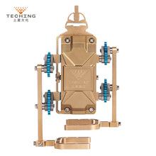 Teching All-Metal Assembly Robot Walker Mobile Phone APP Remote Control DIY RC Building Model Kits for Collection Gift Toy цена в Москве и Питере