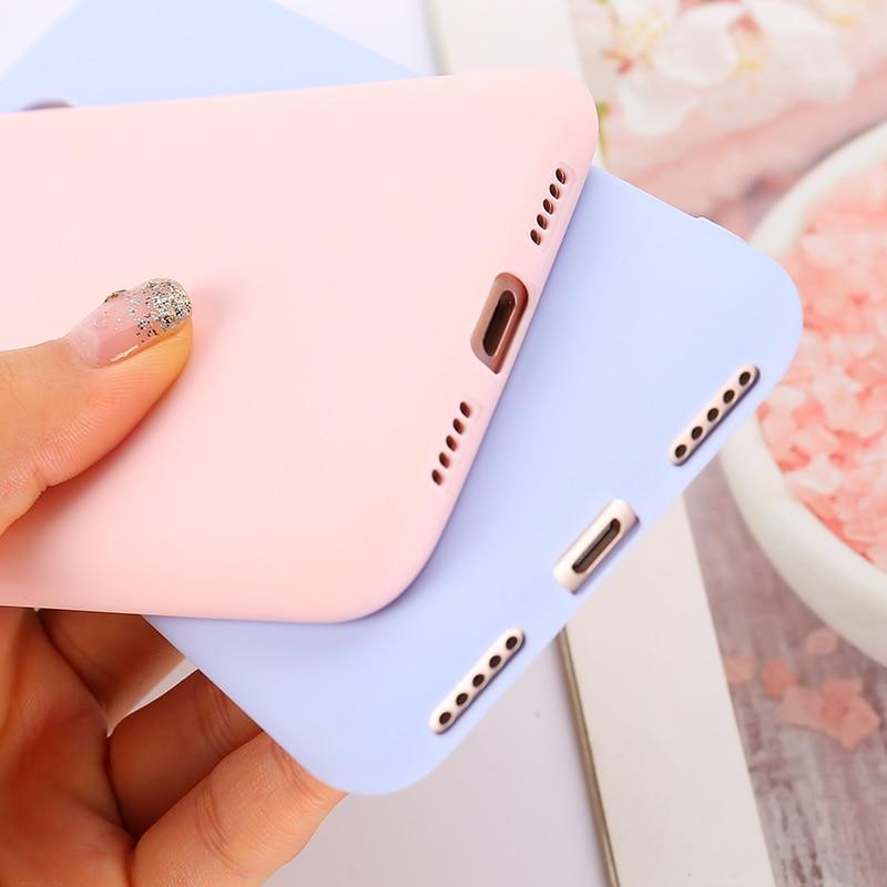 Color TPU Silicone Case For Xiaomi Redmi Note 6 5 7 Pro Redmi 7 7A 6 Pro 6A 5 Plus Matte Case Redmi 3s 4X 4A 5A Note 4 4X Case