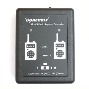 Image 4 - Surecom SR 629 Duplex Repeater Controller Cross Band SR629  for Walkie talkie Two Way Radio Relay Controller Relay Box