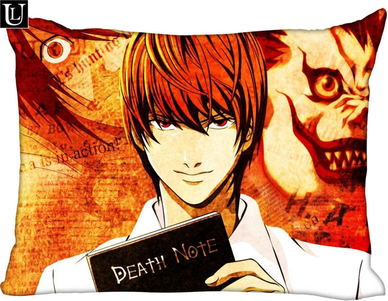 DEATH NOTE L anime two sides Pillow Cushion Case Cover 314