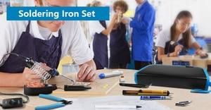 Image 5 - Handskit zestaw do lutowania 8 in 1 wkrętaki zestaw do lutowania z stojak do lutowania drut lutowniczy pompa odsysająca Weldering