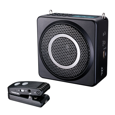 Takstar E260W 2 4G Wireless Portable Amplifier Dual voice coil speaker LCD Display Support FM MP3