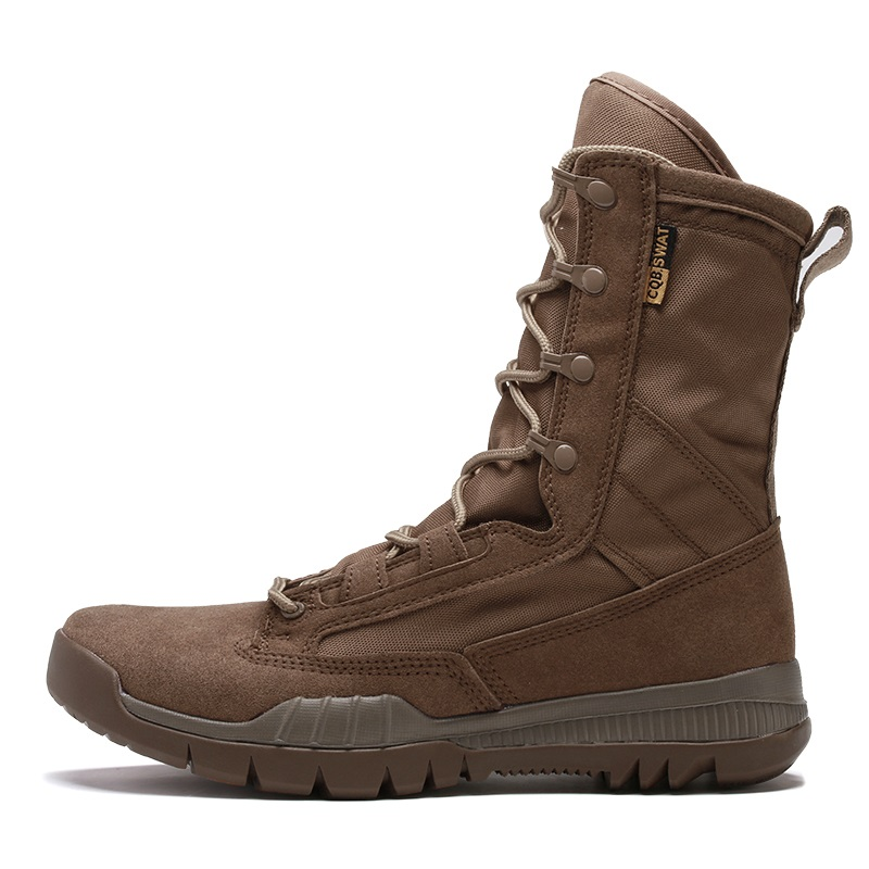 Outdoor men military boots black brown tactical combat boots trekking men Desert boot army shoes men climbing shoes big size 45 in stock with light 15019b 4122pcs lepin 15019 4002pcs assembly square city serie model building kits brick toy compatible 10255