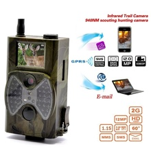 HC300M Hunting Camera GSM 12MP 1080P Photo Traps Night Vision Wildlife infrared Trail Cameras hunt Chasse scout