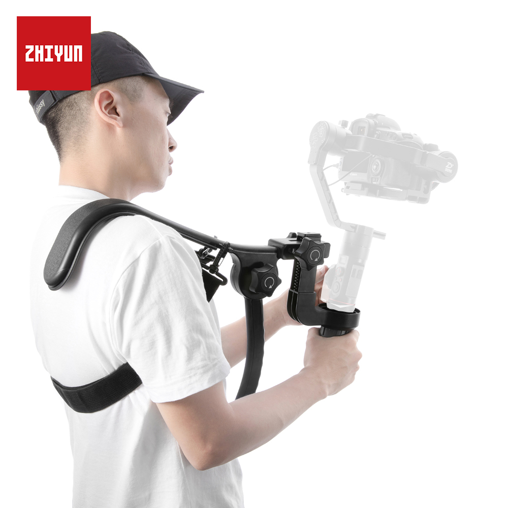 ZHIYUN Original Crane 2 Accessories TransMount Shoulder Bracket with Flexible Strap for handheld Camera Gimbal