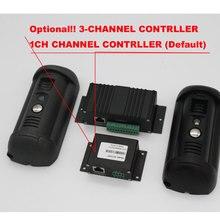 HD Camera POE Video Doorphone Doorbell  ADJUSTABLE FIELD OF VIEW VANDAL RESISTANT IP VIDEO INTERCOMS OUTDOOR IP54(-40+50Degree )