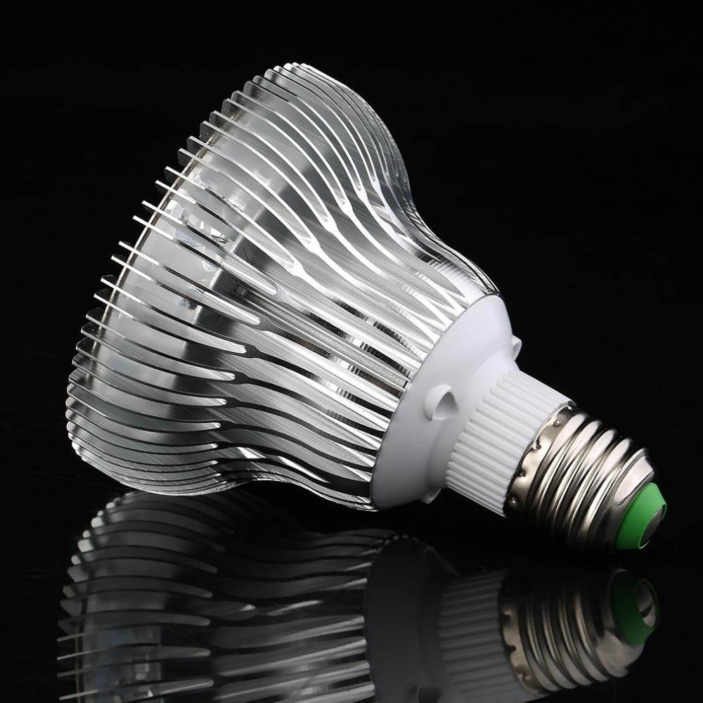 2017 hot sale E27 9W Garden Indoor Hydroponic Flower Lamp Bulb Par30 Plant Light Greenhouse Seedling plants grow lights lamp