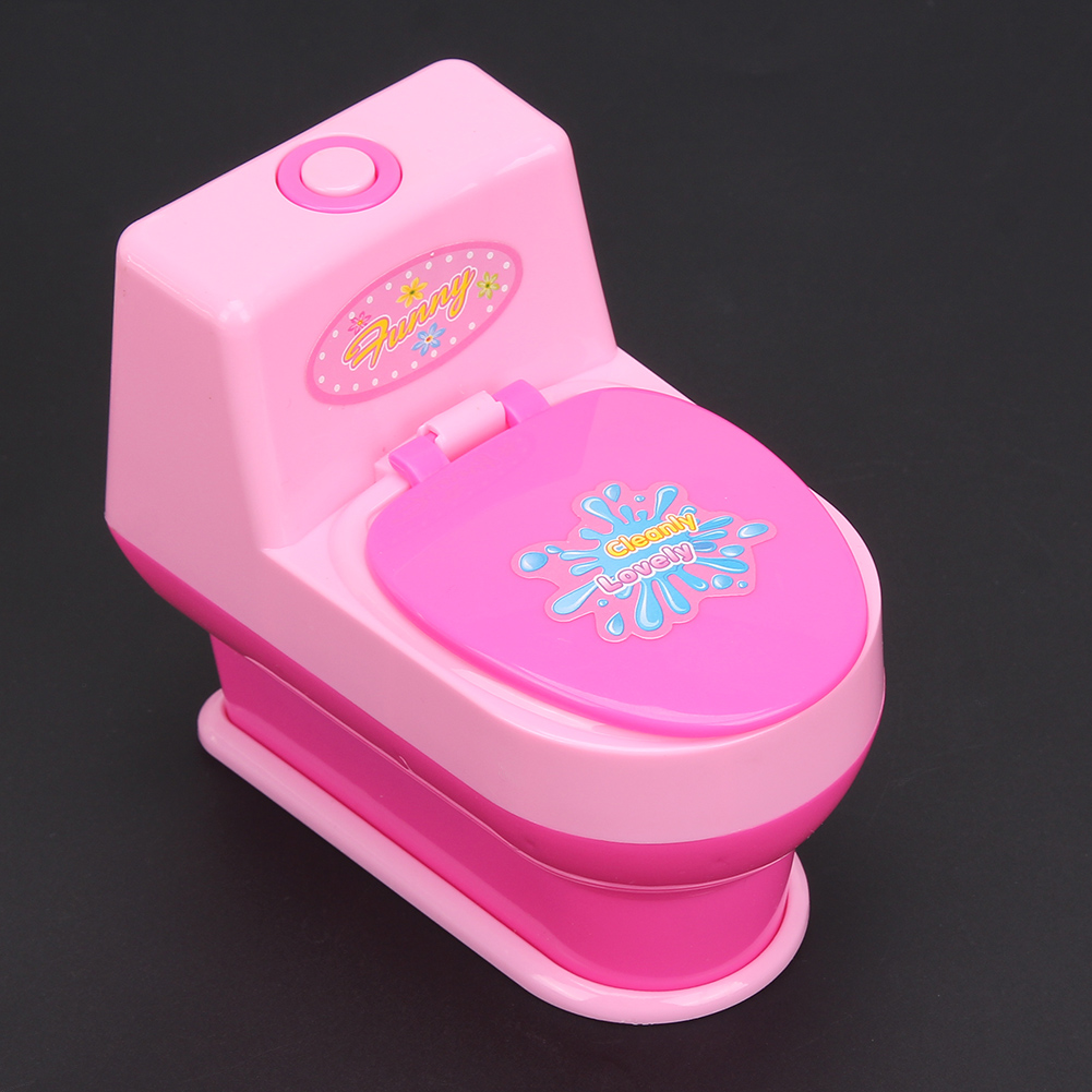 Baby Toys Toilet Mini Simulation Kids Children Pretend Play Toy Home ...