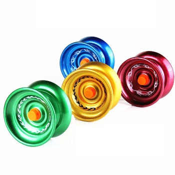 3pcs/set Alloy Professional YoYo Ball Auldey YoYo Toys Magic Orbis Yo Yo Bearings Diabolo Outdoors Toys For Children Gifts funny chinese yoyo 3 bearing diabolo set metal sticks bag toys interactive games for kids children adult elderly people toys