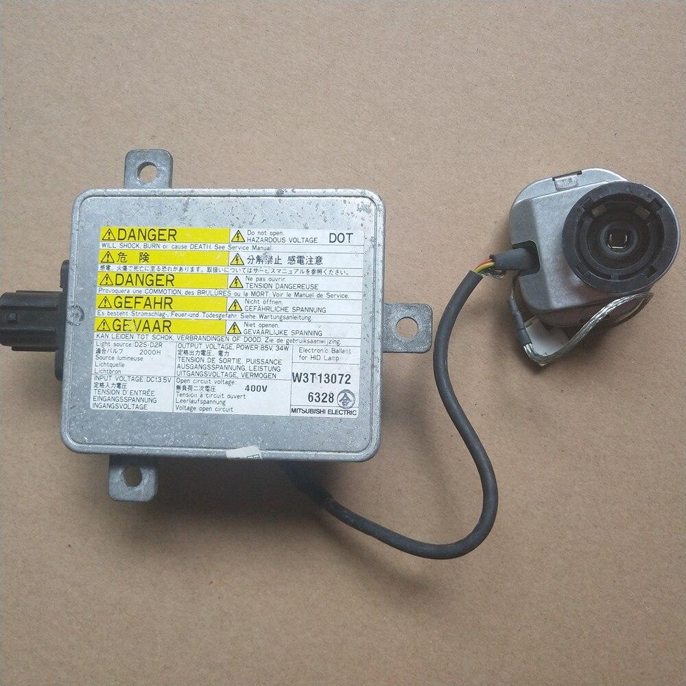 OEM utilisé D2S D2R HID xénon phare Ballast avec allumeur W3T11371 pour Acura TL TSX RDX ZDX ILX 33119-TA0-003 W3T13072