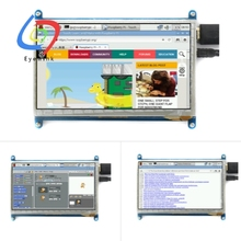 EYEWINK 7 inch Raspberry pi touch screen 800*480 7 inch Capacitive Touch Screen LCD, HDMI interface, supports various systems
