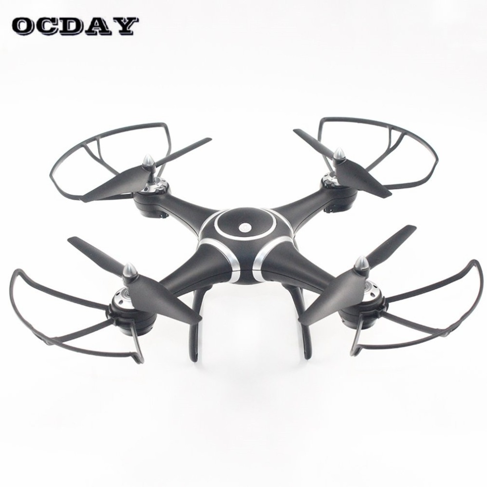 S7W Quadcopter Aircraft LED Light Colorful Module Aerial Drone Air Pressure Fixed Helicopter RC Quadcopter With 720P Camera hi(China)