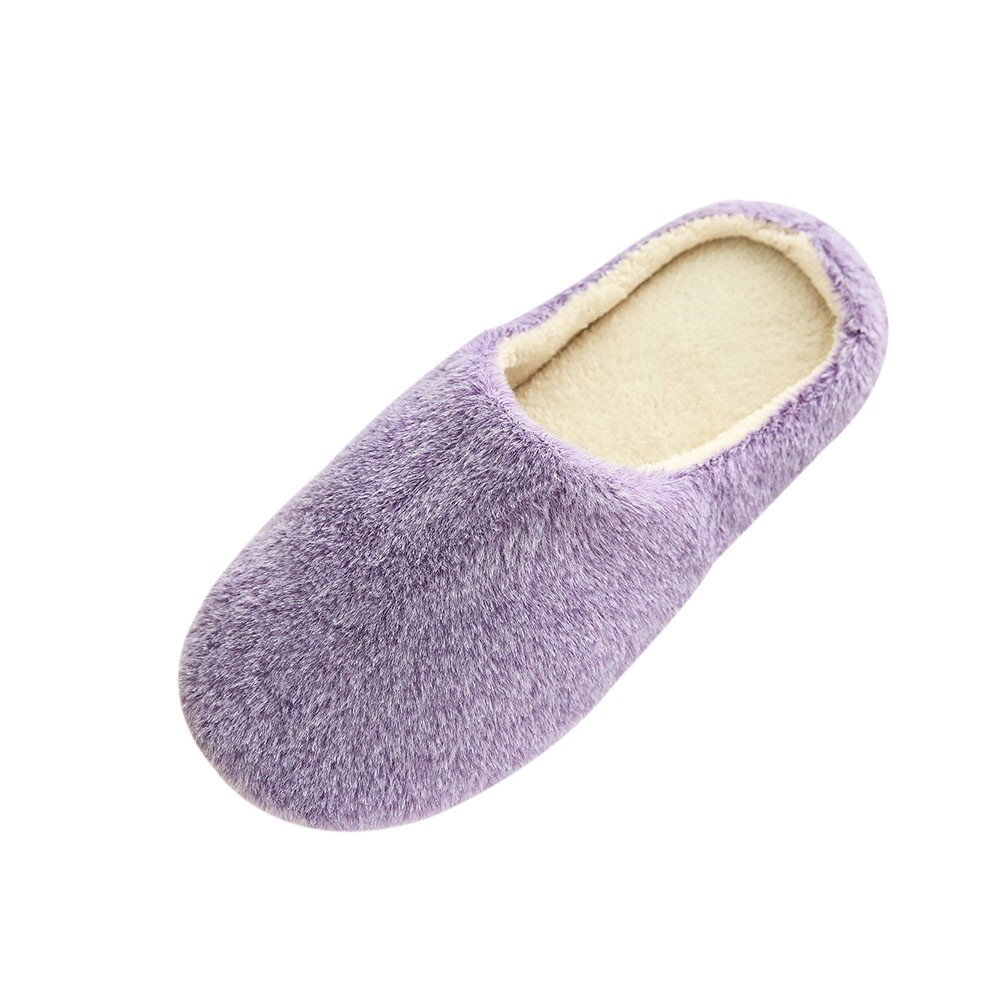 Sleeper #501 2019 NEW Women Warm Home Plush Soft Slippers Indoors Anti-slip Winter Floor Bedroom Shoes soft solid Free Shipping