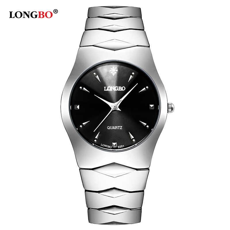 b9c441028a3 LONGBO Fashion Brand Casual Lovers Watches Men Women Quartz Luxury Couple Watch  Relogio Feminino Reloj Hombre
