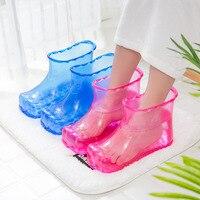 Foot Massage Shoes Healthy Care Soak Foot Reflexology Feet Shiatsu Rest A Pair Massager Boots