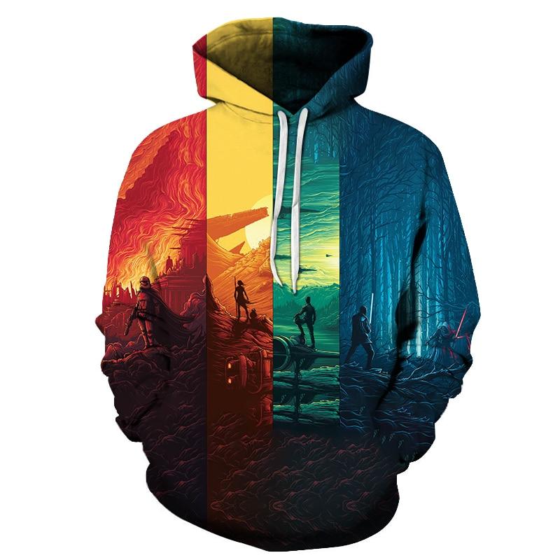 Sunset Fighter 3D Printed Brand Casual Hoody Sweatshirt Men Tracksuit Hoodie Pullover Streetwear Coat Unisex DropShip ZOOTOPBEAR