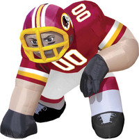 Free Shipping ! Customiezd NFL San Diego Chargers Inflatable Standing Bubba Football Player