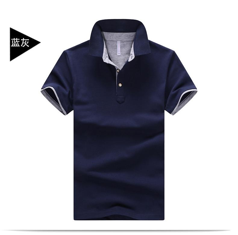 2019 summer men's   Polo   shirt fashion casual anti-pilling men's short-sleeved trend   POLO   shirt