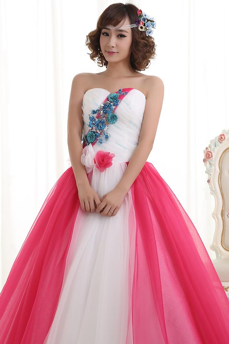 Venta caliente Quinceanera Vestidos de Novia de Tul vestido de Bola ...
