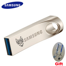 SAMSUNG USB Flash Drive Disk 64gb USB 3.0 Metal Pen drive Custom lettering or pattern Drive Tiny Memory Pendrive 64GB U Disk