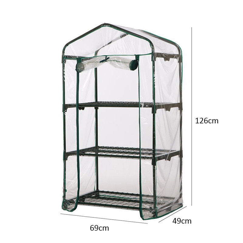 5 Tier Shelf Greenhouse with Cover Garden Free Standing Growhouse FAST DELIVERY