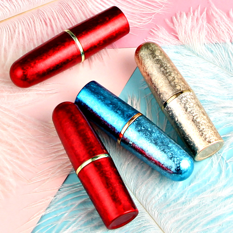 10/20/50pcs 12.1mm Gold/Red/Blue Bullet Lipstick Tube DIY Lip Rouge/Balm Pipe Shell Travel Handmade Empty Refillable Container 12 1mm rose gold empty lipstick tube plastic women lip makeup tool high grade lip rouge refillable container lip balm bottle