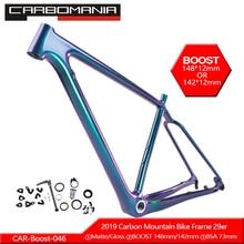 2020 Carbon Bicycle Frame 29er Boost 12*148mm Mountain Bike Frame Carbon bicicletas mountain bike 29inch Carbon MTB Frame BSA