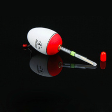 10pcs EVA foam material Sea Fishing Float Not draft Ultra-light non-absorbent Fishing Float Support Glow Luminous Stick Inserted